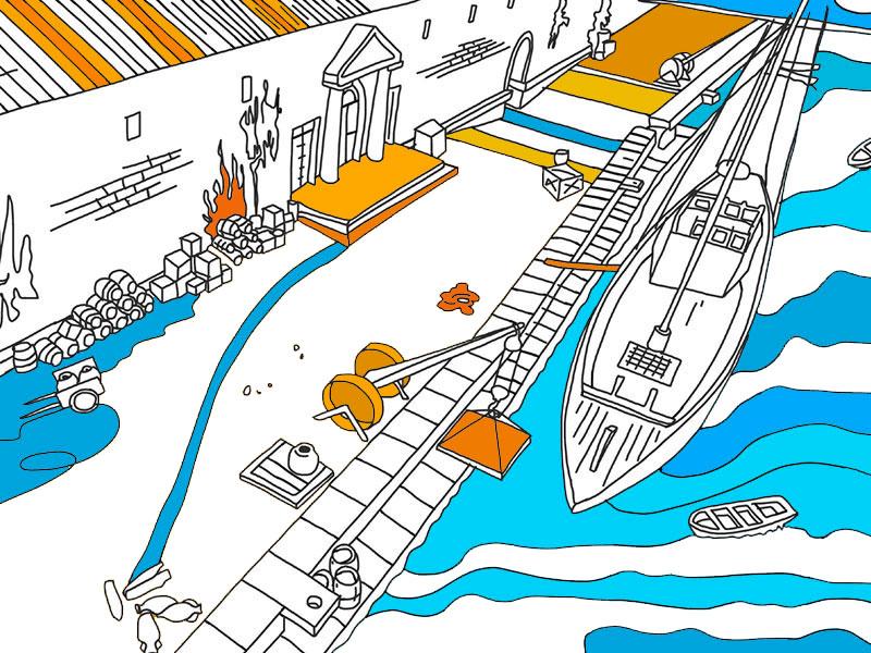 Porto Fluviale 1 - COLORing