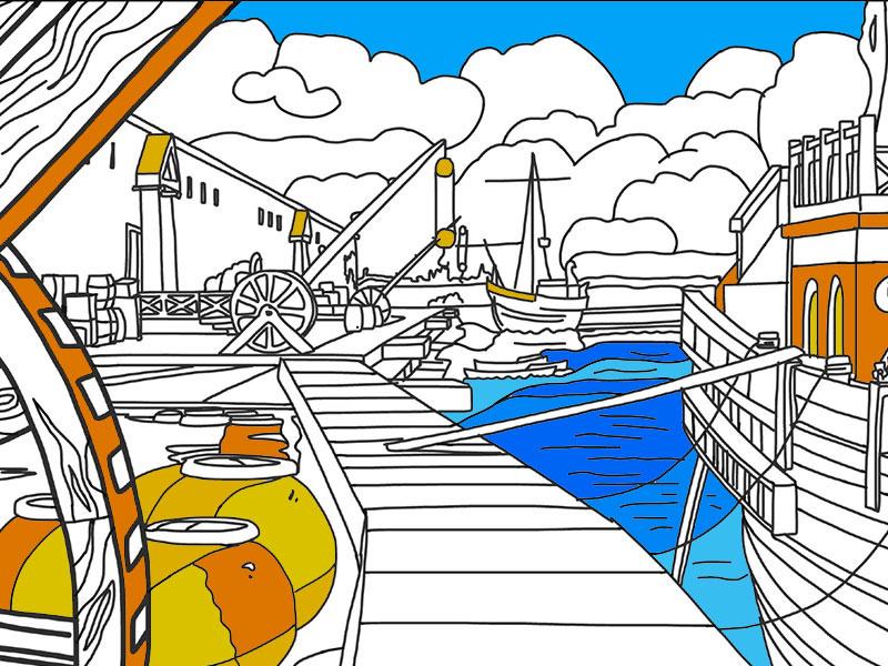 Porto Fluviale 2 - COLORing
