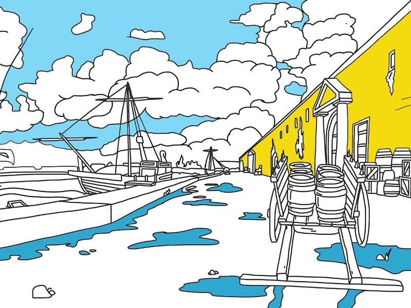 Porto Fluviale 4 - COLORing