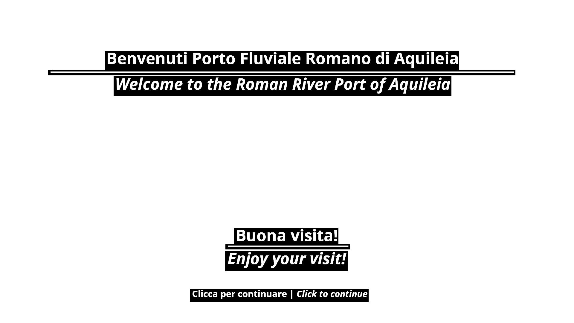Porto Fluviale Romano - Aquileia (UD).