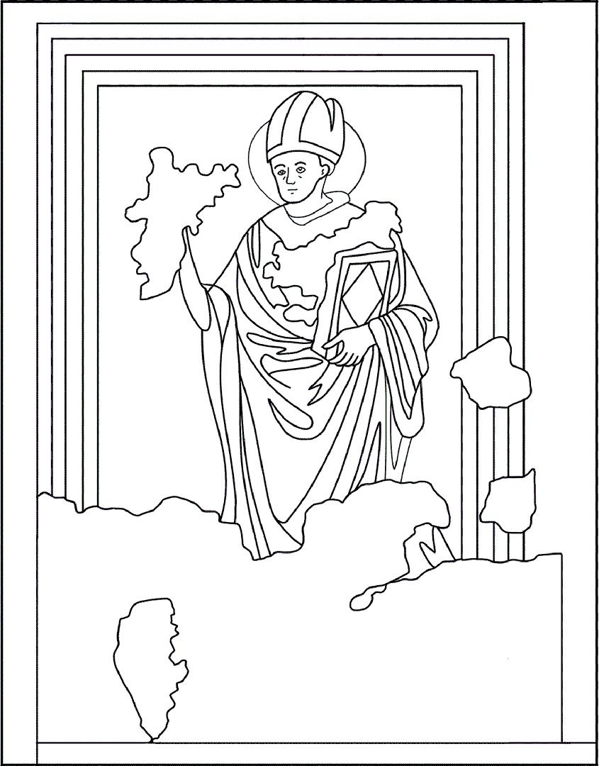 Colora l'illustrazione dei Dottori | Battistero di Concordia Sagittaria - ARTing
