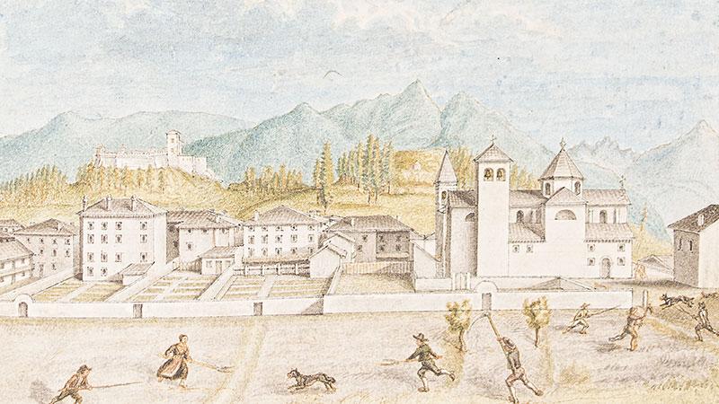 Manoscritto - Castello di Pieve di Cadore