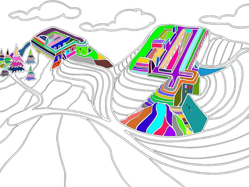 Il Forte di Monte Ricco - COLORing