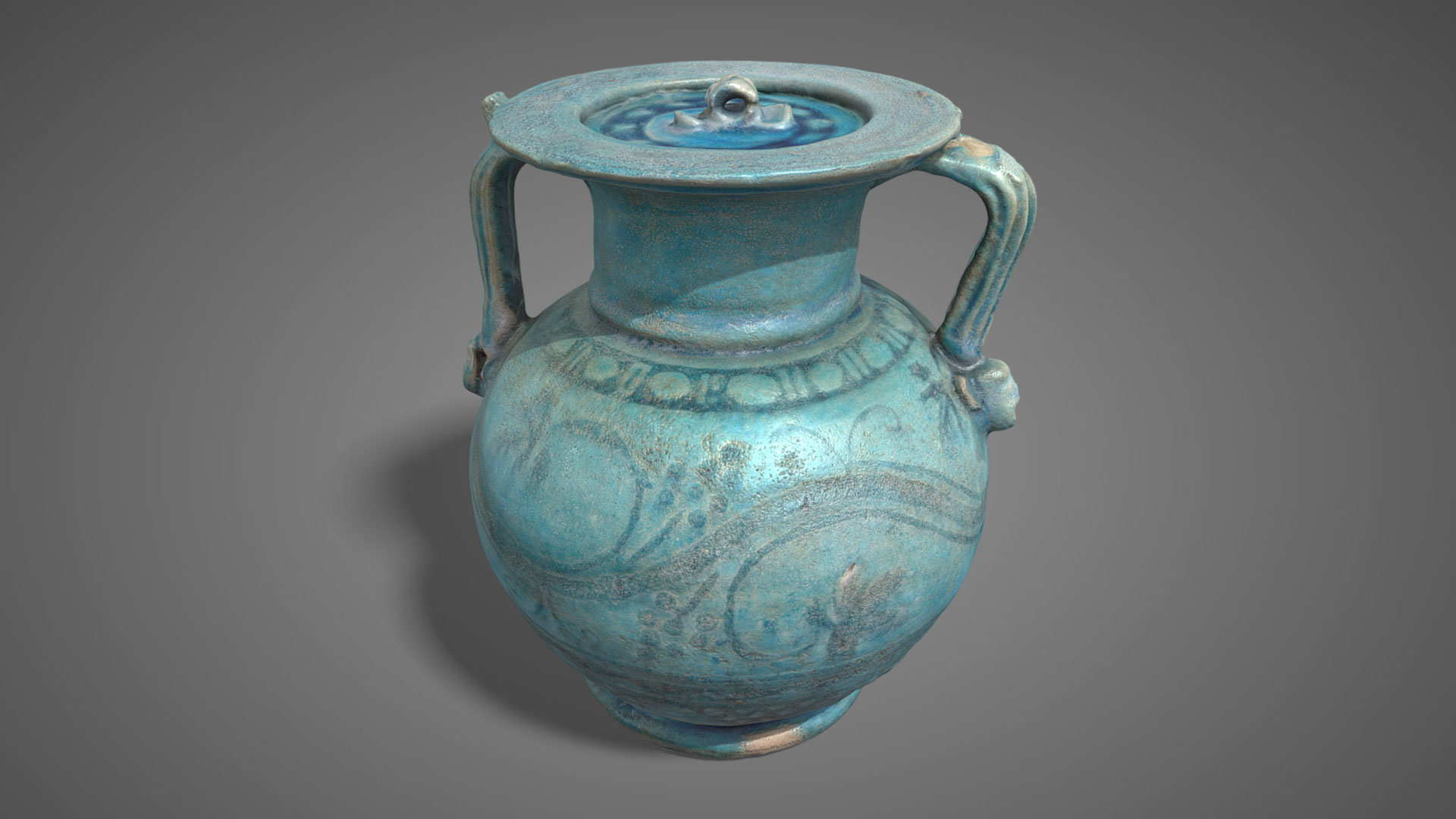 Anforetta in vetro | Glass Amphora - 3D Model