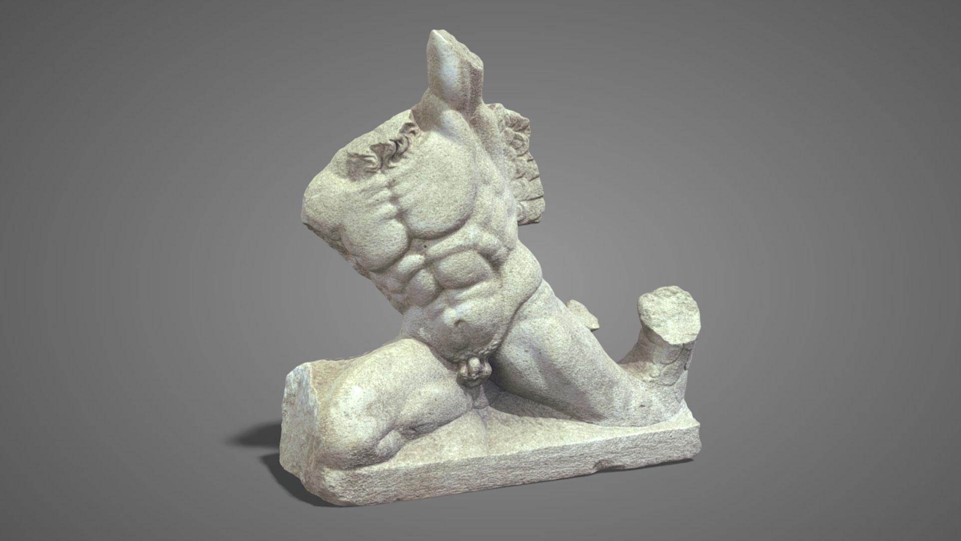 Busto Virile | Male torso n°2 - 3D Model