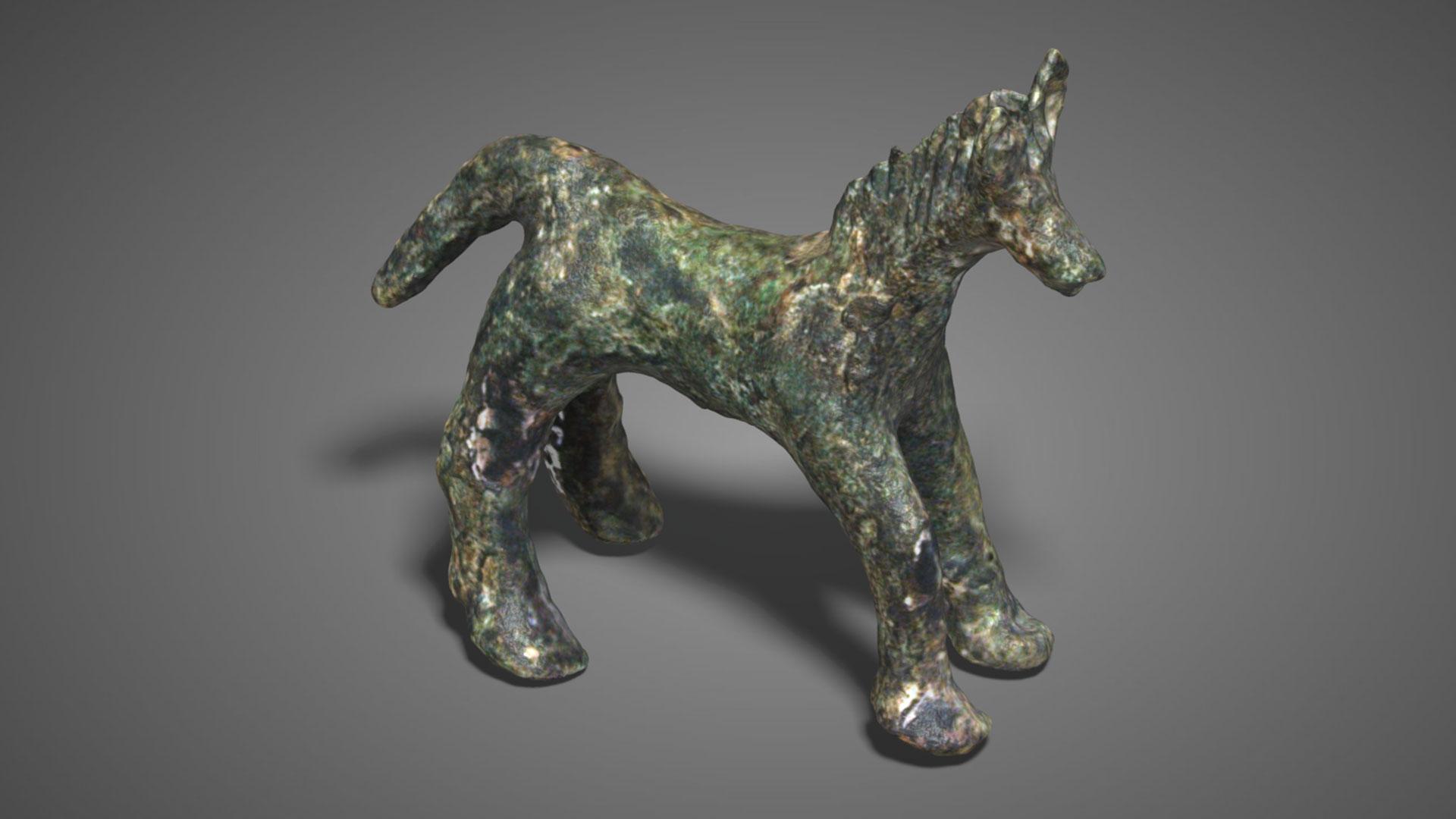 Cavallo in bronzo | Bronze Horse - 3D Model