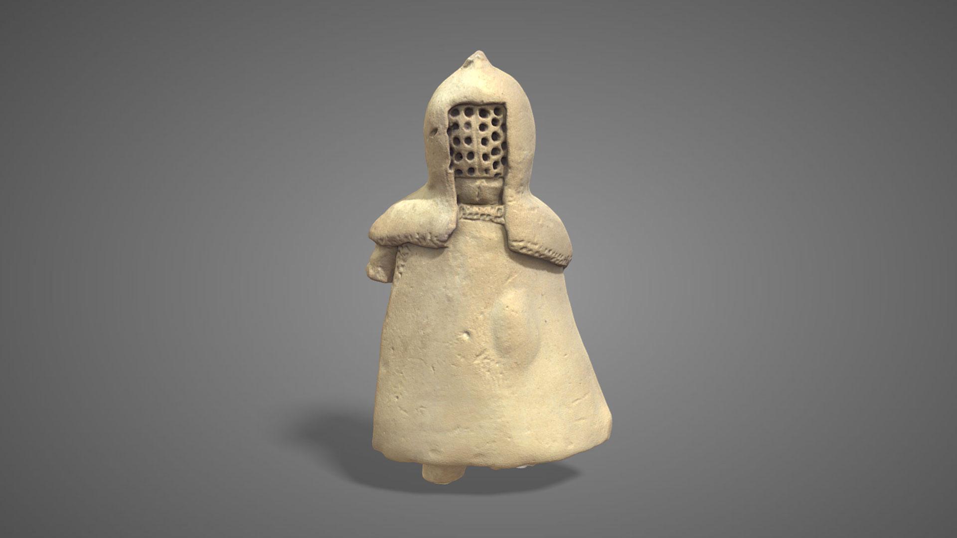 Gladiatore in terracotta | Terracotta gladiator - 3D Model