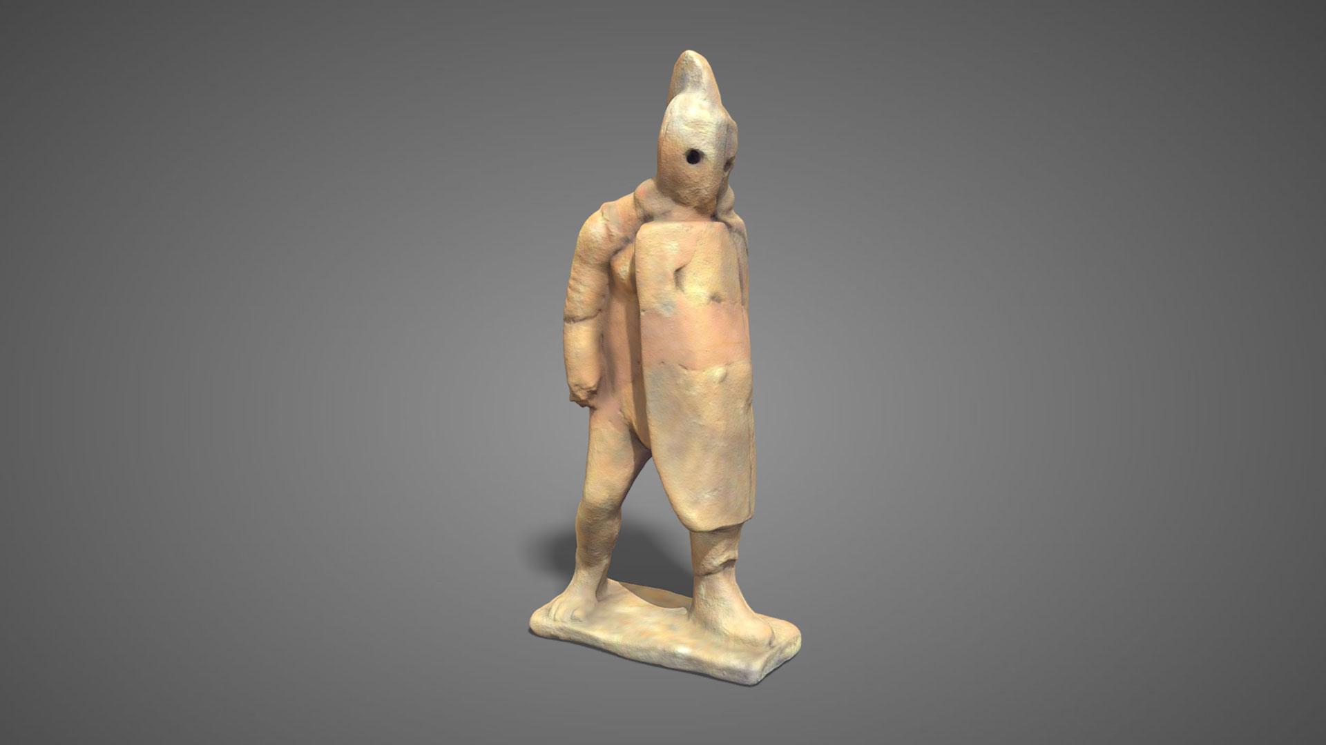 Gladiatore in terracotta | Terracotta gladiator n°2 - 3D Model
