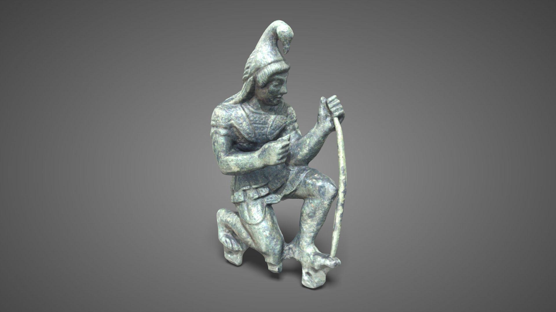 Paride arciere | Paris archer - 3D Model
