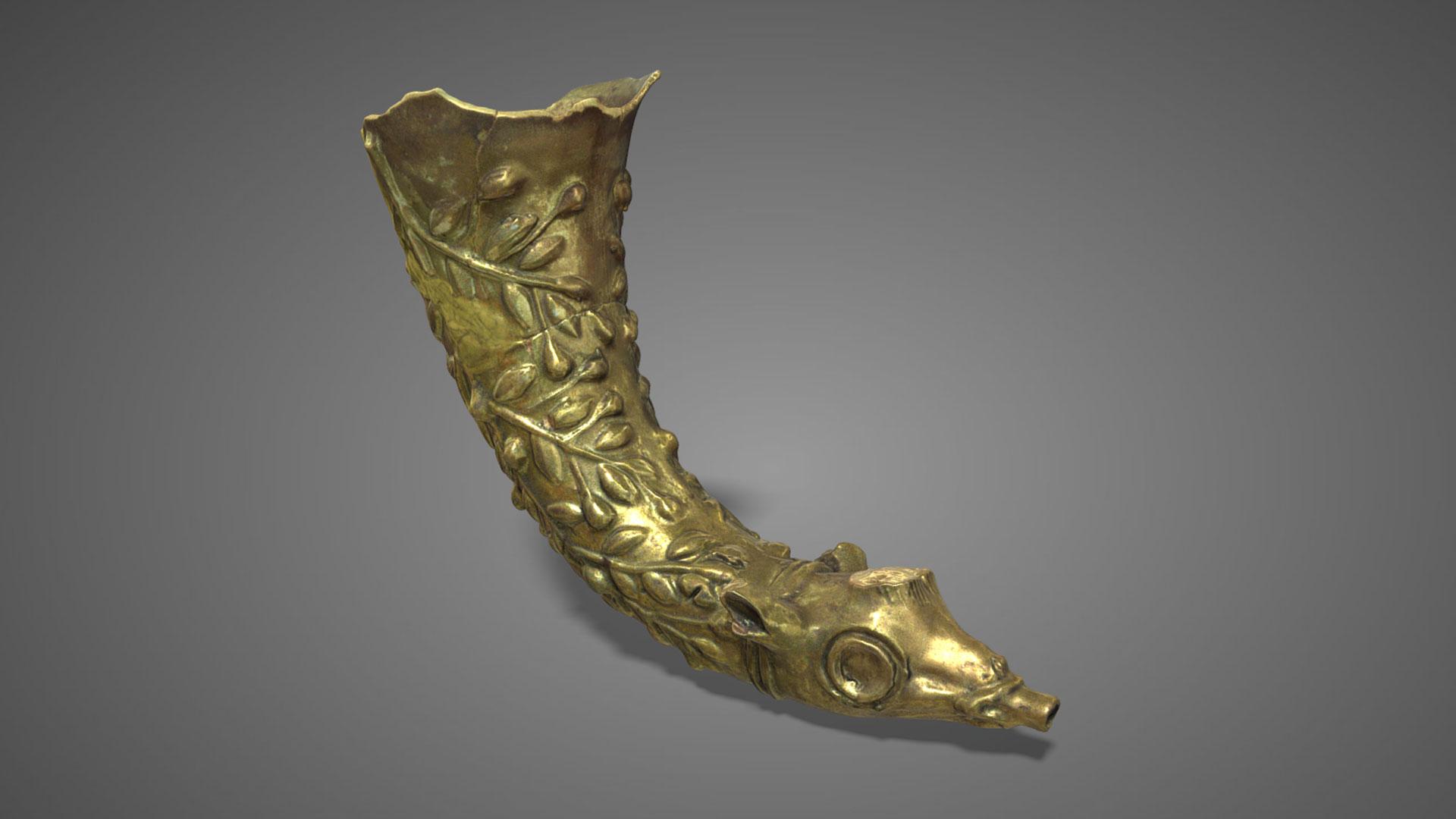 Rython in ceramica invetriata | Ceramic Rython - 3D Model