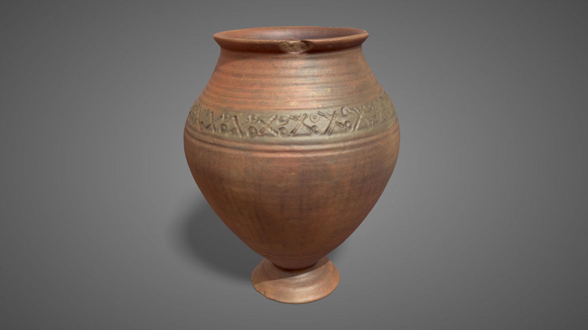 Vaso in terracotta | Ceramic pot - 3D Model
