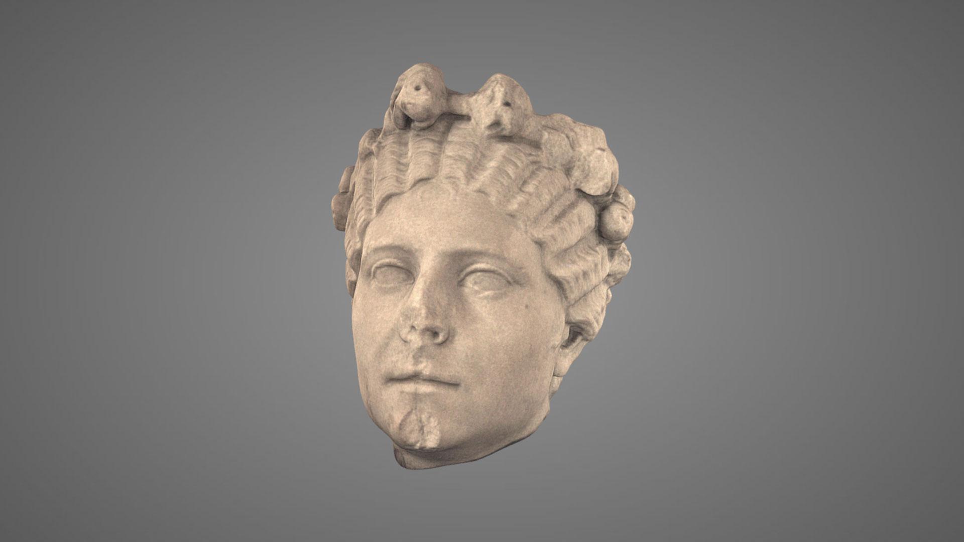 Ritratto Femminile con Corona - 3D Model