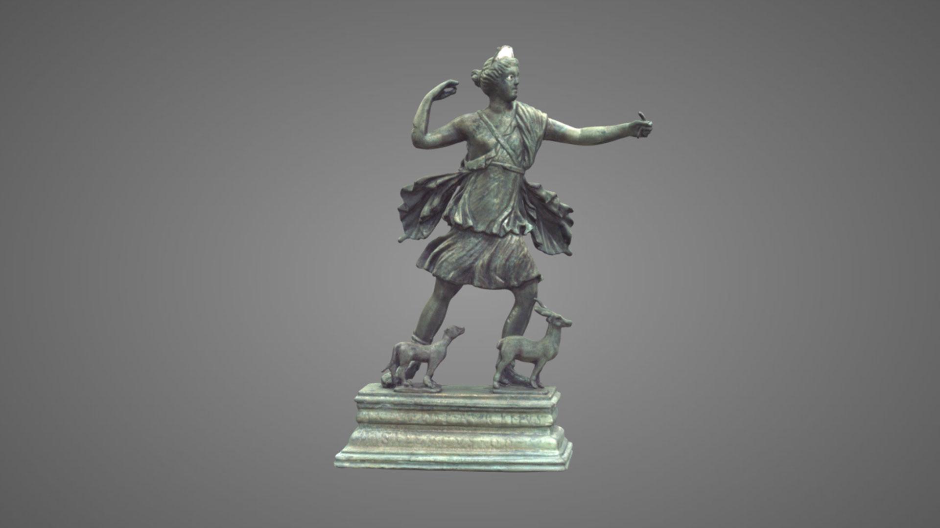 Statuetta raffigurante Diana cacciatrice - 3D Model