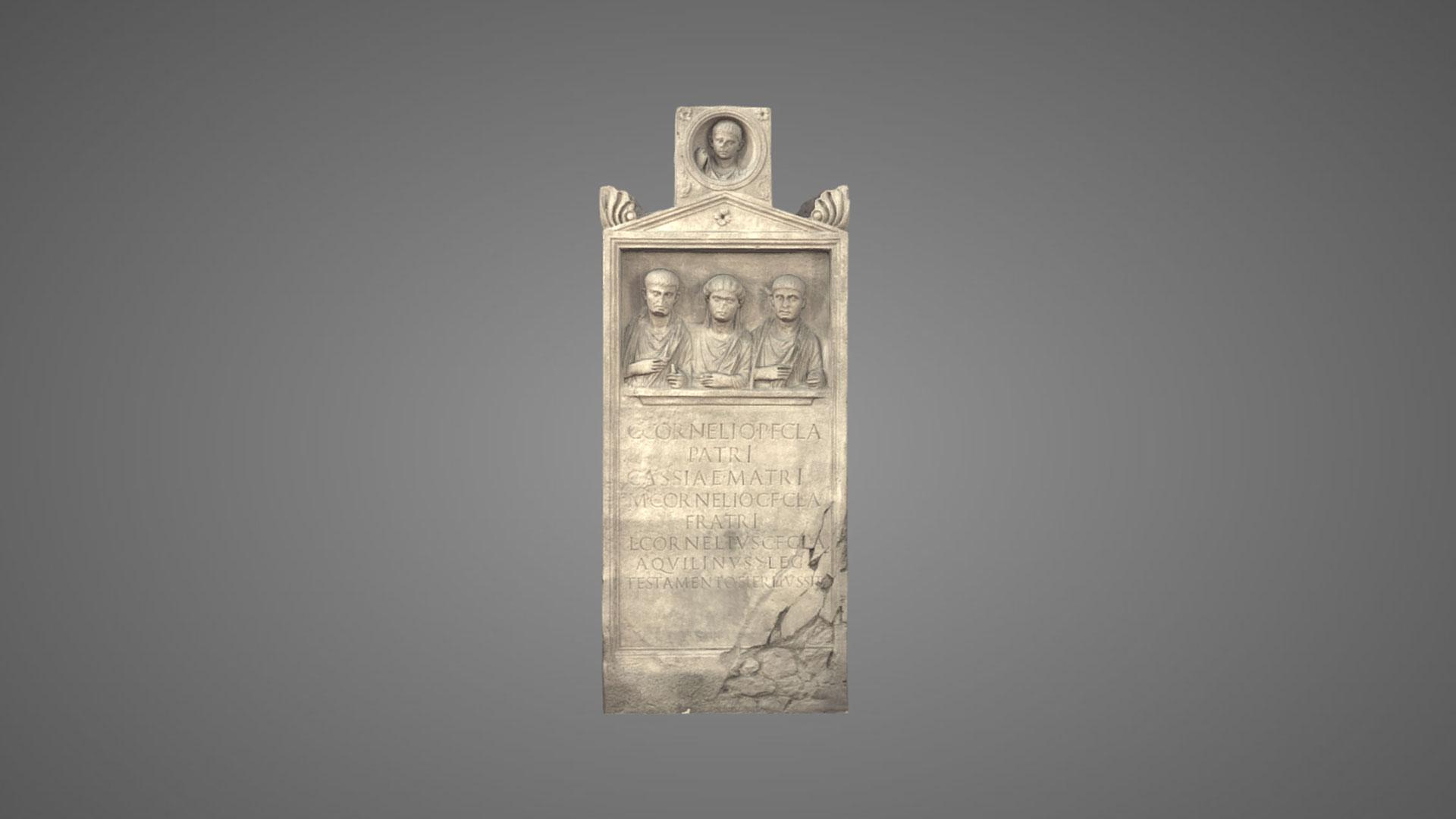 Stele Sepolcrale dei Corneli - 3D Model