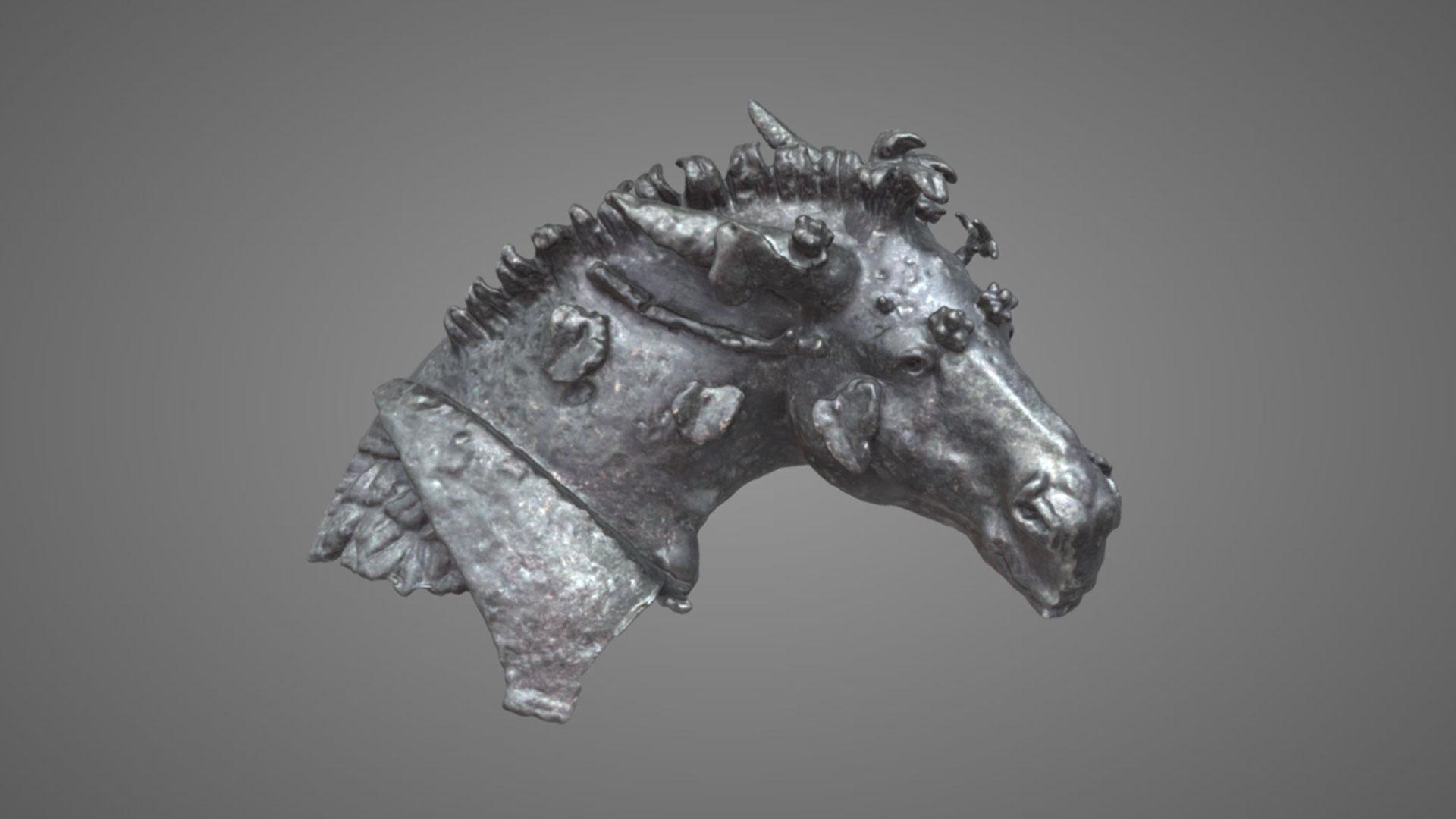 Testa di mulo bacchico - 3D Model