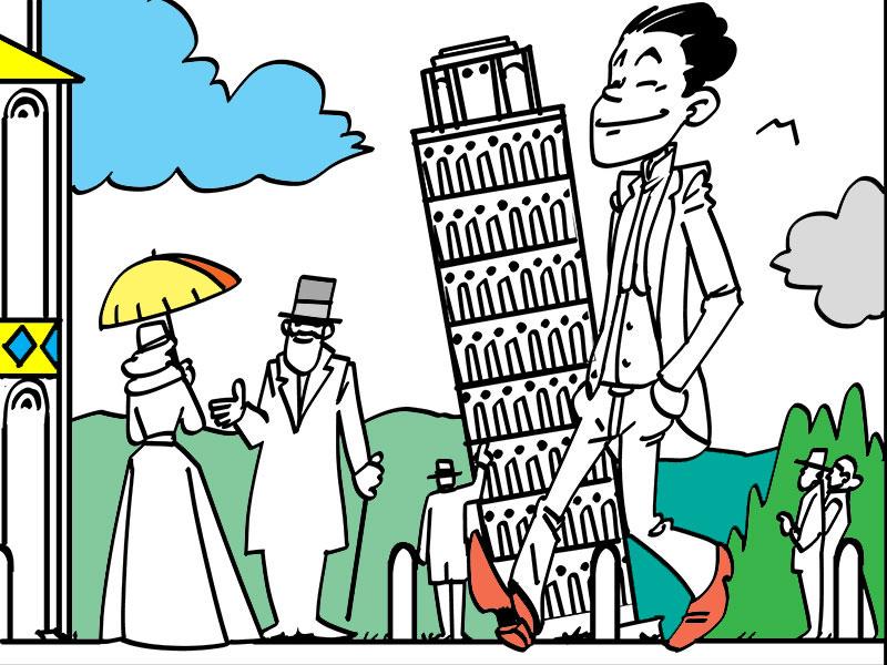 In viaggio per l'Italia - COLORing