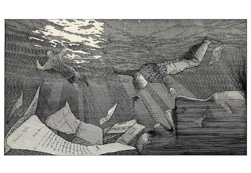 Il Naufragio nel Mar Tirreno.