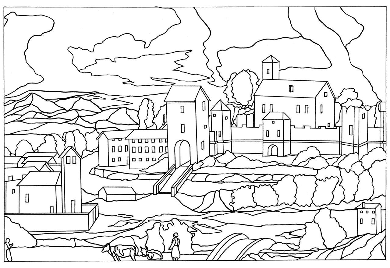 Colora Il Castello di Fratta - ARTing
