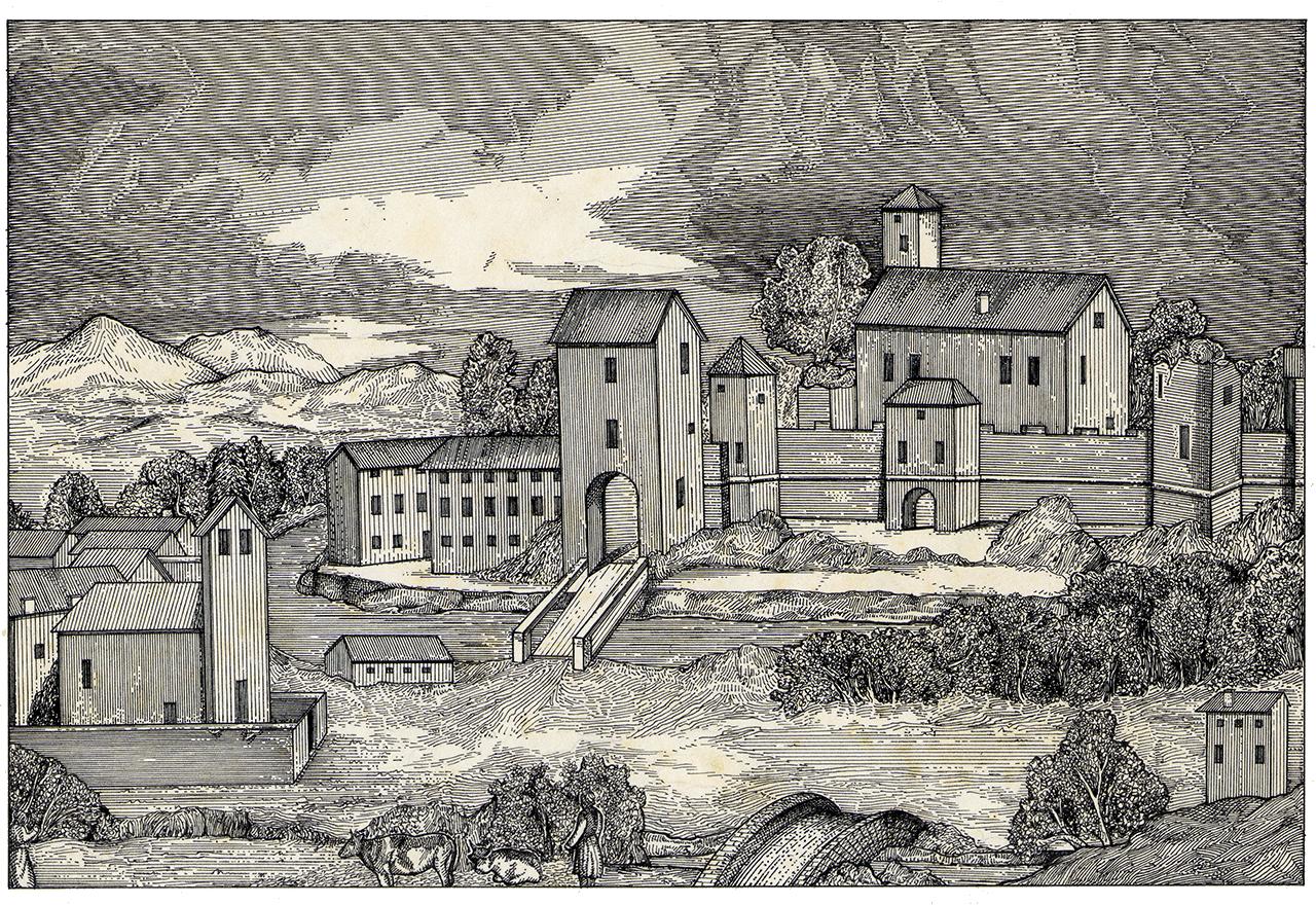Il Castello di Fratta.