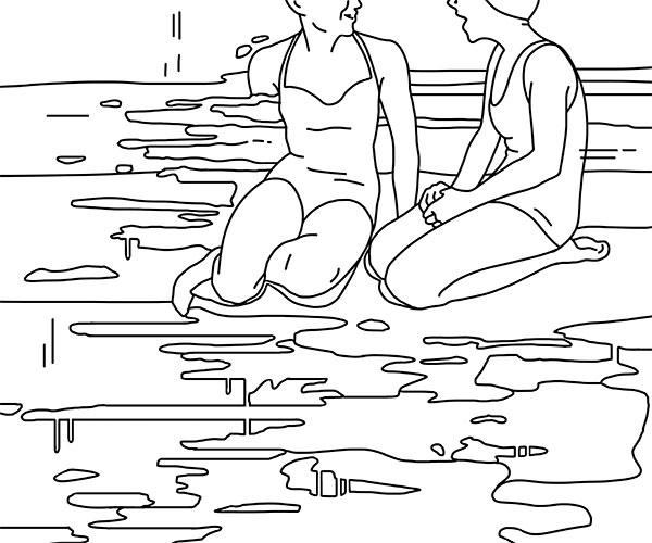 Marta Lorenzon | Bagnanti Tappanaso e Chiacchiere - ARTing