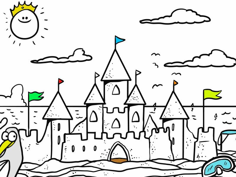 Il Castello di Sabbia - COLORing