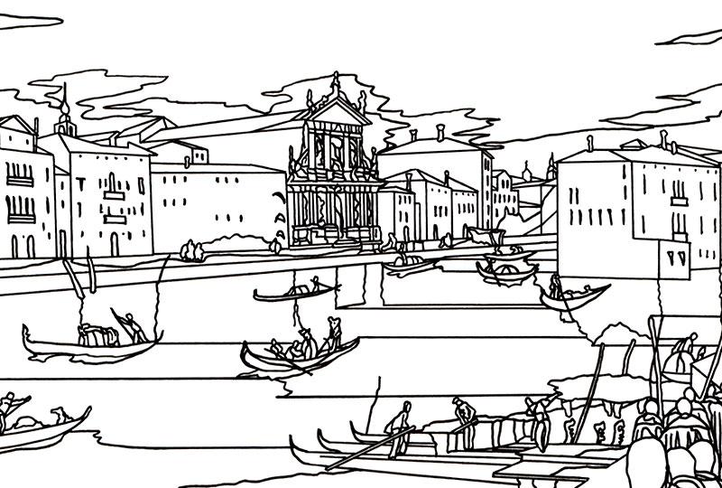 Arrivo Carmelitani a Venezia