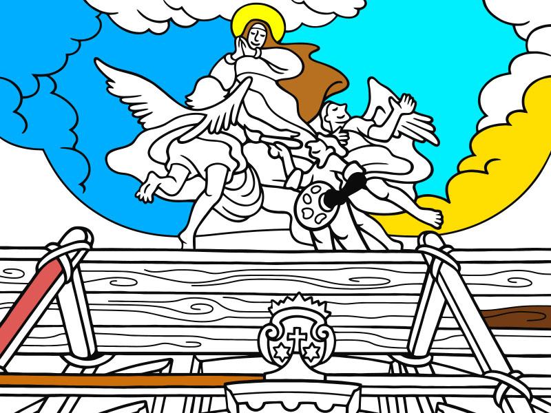 L'apoteosi di Santa Teresa - COLORing