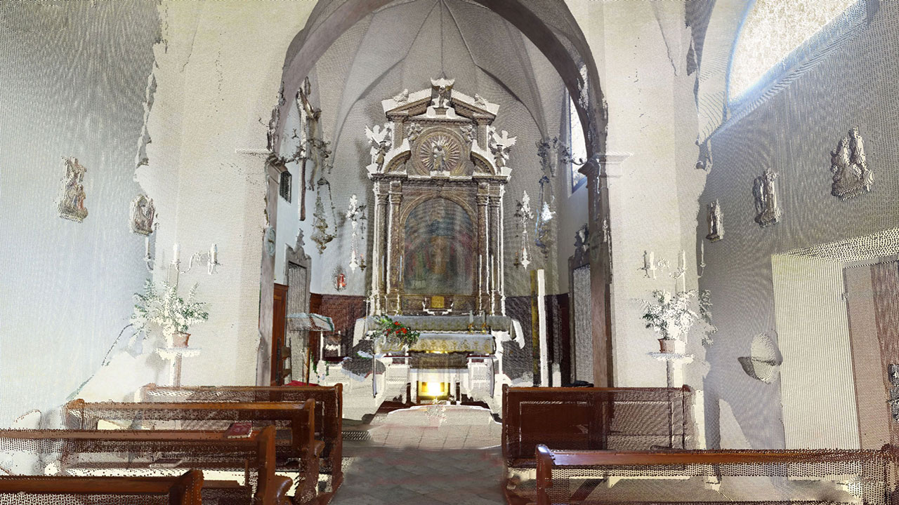 Chiesa di San Candido - Pieve di Cadore - Point Cloud