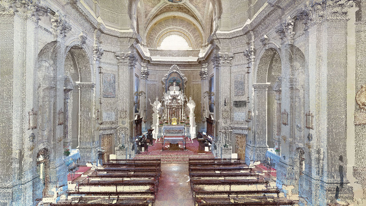 Chiesa di San Vito - San Vito di Cadore - Point Cloud