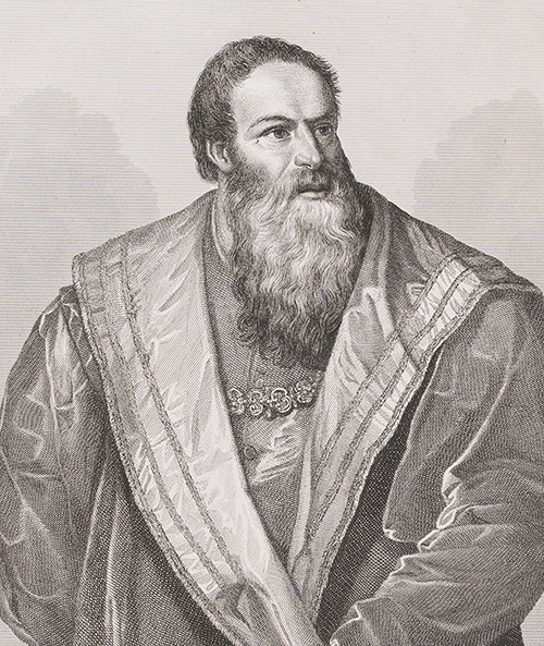 Tiziano Vecellio | Ritratto di Pietro Aretino