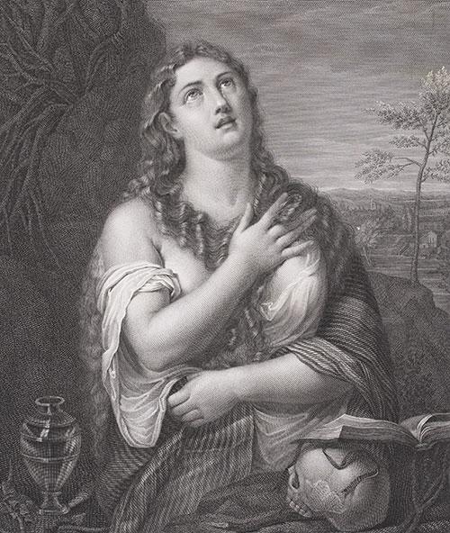 Tiziano Vecellio | Maddalena penitente
