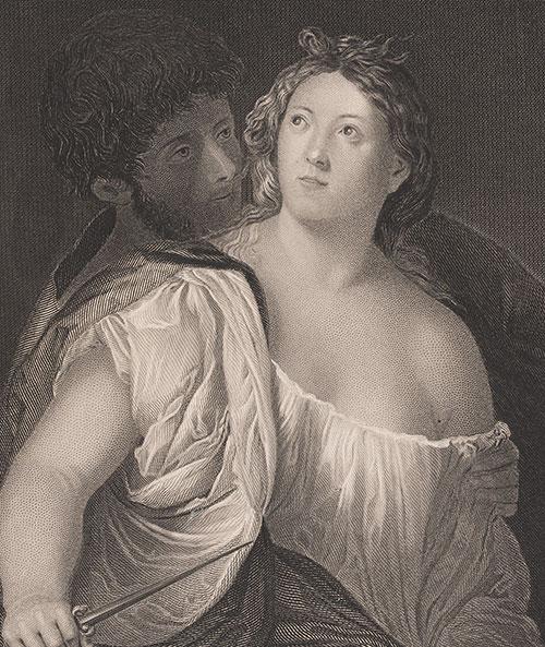 Tiziano Vecellio | Tarquinio e Lucrezia