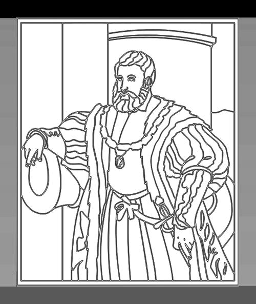 Tiziano Vecellio | Ritratto di Alfonso I d'Este - ARTing