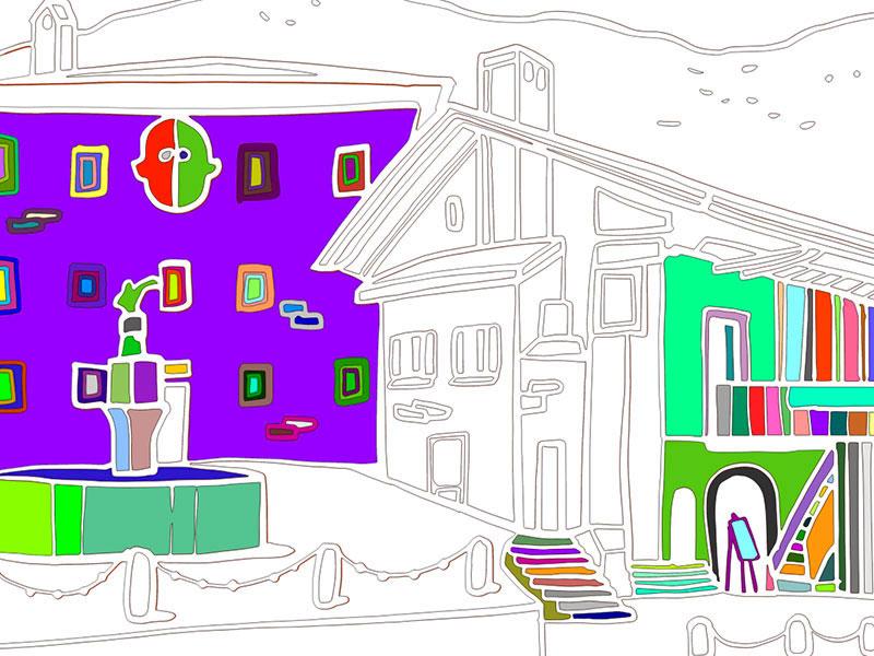 La casa natale di Tiziano Vecellio a Pieve di Cadore - COLORing