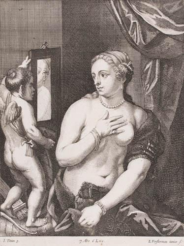 Archivio stampe da tiziano vecellio - Venere allo specchio tiziano ...