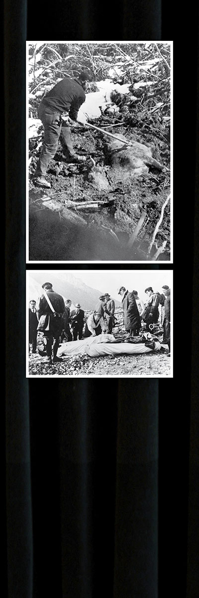 Historical Photos: The Vajont Dam - 3 of 8
